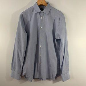 John Varvatos . Slim Fit Button Down Shirt . 15.5